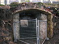 Stewarton railway station old underpass.JPG