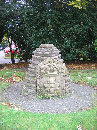 Stirling Smith Art Gallery and Museum - Cairn located within the Garden at The Smith Museum and Art Gallery.