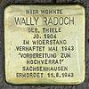Stolperstein.Wittenau.Mauschbacher Steig 31.Wally Radoch.7471.jpg
