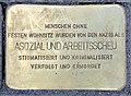 Stolperstein Alexanderplatz 2 (Mitte) Kopfstein.jpg