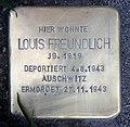 Stolperstein Emser Str 90 (Neukö) Louis Freundlich.jpg