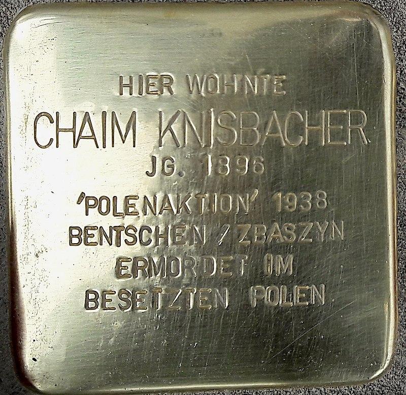 Stolperstein HB - Chaim Knisbacher 1896.jpg
