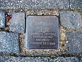 Stolperstein Klara Juda Lisztstraße 11 Bonn.JPG
