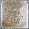 Stolperstein Kuno Hirsch by 2eight 3SC1435.jpg