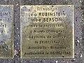 Stolperstein Léa Rubinstein 31 rue Cuvier Fontenay Bois 1.jpg