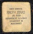 Stolperstein Sigmaringer Str 25 (Wilmd) Ralph Jonas.jpg