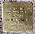 Stolperstein Sigmaringer Str 36 (Wilmd) Walter Falk.jpg