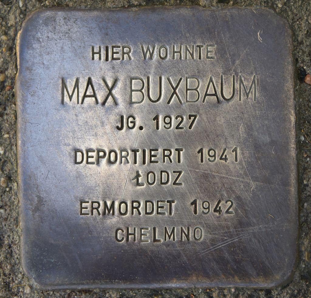Stolperstein für Max Buxbaum 01.JPG