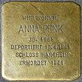 Stolpersteine Salzburg, Anna Penk (Getreidegasse 35).jpg