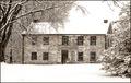Stone Farmhouse Facade in Winter.tif