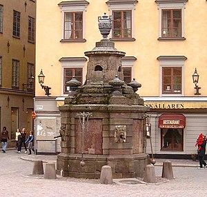Stortorget - The well