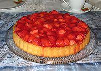 a :en:Strawberry Pie (:de:Erdbeerkuchen)