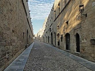 Knights Hospitaller - Street of Knights in Rhodes