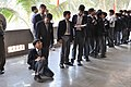 Student Visitors - Acharya Prafulla Chandra Ray Life And Science Of A Legend Exhibition - BITM - Kolkata 2011-01-17 0191.JPG
