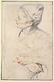 Study of a Woman's Head and Hands MET DP823291.jpg