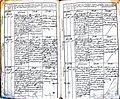 Subačiaus RKB 1827-1830 krikšto metrikų knyga 074.jpg