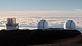 Subaru and Keck Telescopes. Mauna Kea Summit (503911) (21686318739).jpg