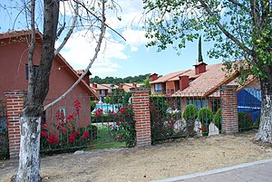 Tequisquiapan - Subdivision of newer homes in the town