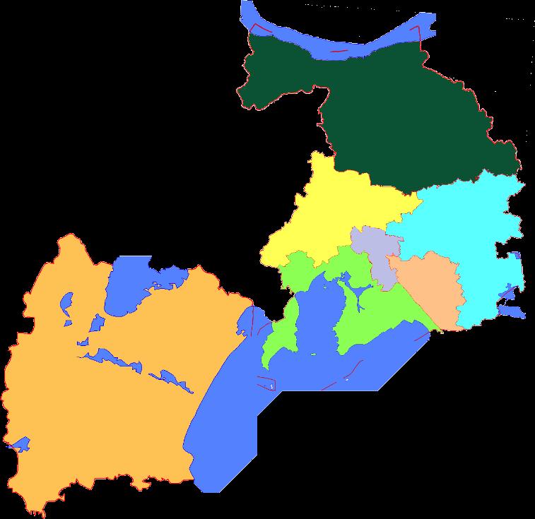 Subdivisions of Wuxi, China