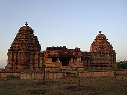 Jodu-Kalasa Gudi (Twin Towered Temple) at Sudi