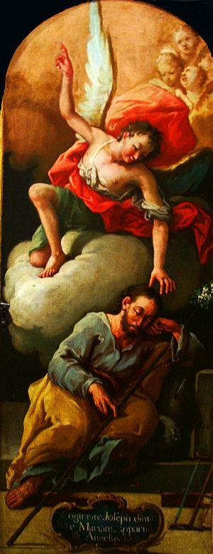 José Luzán - Dream of Joseph by José Luzán