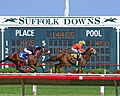 Suffolk Downs race results board.JPG