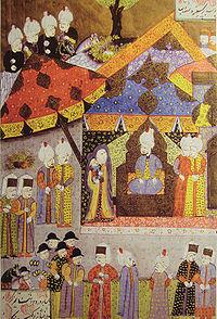 Reĝino Isabella antaŭ Suleiman I