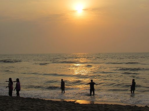 Sunrise-besant-nagar-beach-chennai-7