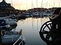 Sunset Hythe Marina Village - geograph.org.uk - 330227.jpg
