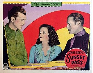 <i>Sunset Pass</i> (1929 film) 1929 film