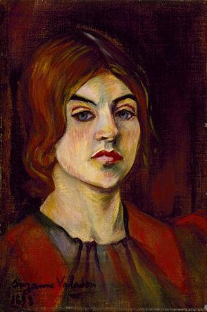 Bonjour Biqui, Bonjour! - Suzanne Valadon, self-portrait (1893)