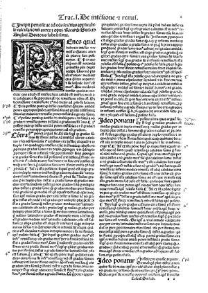 Oxford Calculators - Richard Swineshead, Calculator, 1520
