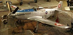 Swiss Air Force - A restored Swiss Air Force P-51D
