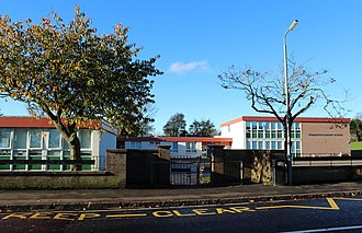 South Ayrshire - Symington Primary School with the Early Years Centre shown to the right
