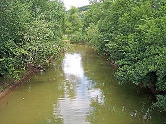 Chesapeake, Ohio - Symmes Creek at its mouth