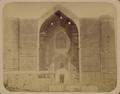 Syr-Darya Oblast. City of Turkestan. Main Facade of Saint Sultan Akhmed Iassavi's Mausoleum WDL3587.png