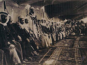 Druze leaders meeting in Jebel al-Druze, Syria, 1926.