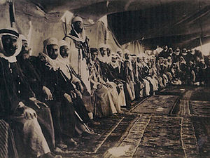 Druze in Syria - Druze leaders meeting in Jabal al-Druze, Syria, 1926