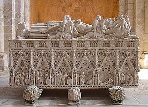 Túmulo de D. Pedro I (Mosteiro de Alcobaça)