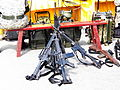 T91 Rifles Set up on Ground 20120211.jpg