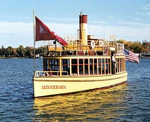 Museum of Lake Minnetonka - The restored Minnehaha