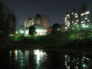 Tokyo Institute of Technology - Image: TI Tech At Night 1