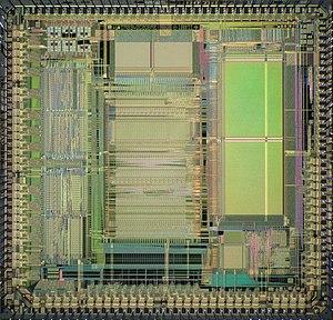 TMS34010 - Die of TMS34020