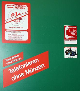 Telefonkarte Deutschland Wikipedia