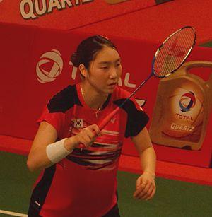 Sung Ji-hyun - Image: TOTAL BWF World Champs 2015 Day 2 Sung Ji Hyun