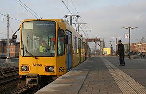 Houten Castellum railway station - Image: TW 6016 Houten