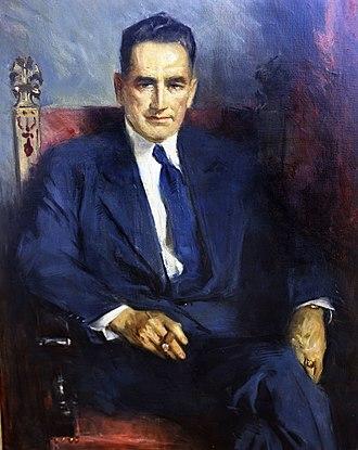 W. Kerr Scott - Portrait as governor