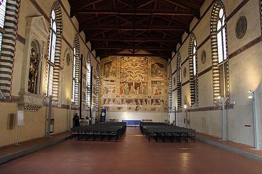 Taddeo gaddi, Albero della Vita, Ultima cena e storie sacre, 1333, (Santa Croce, il refettorio)