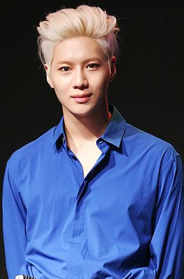 Taemin at a showcase in Taiwan, in May 2016 03.jpg
