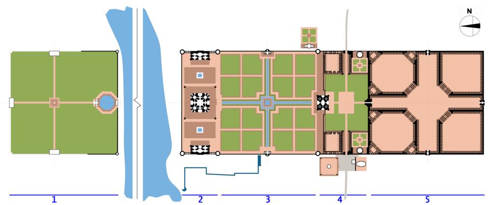Taj site plan